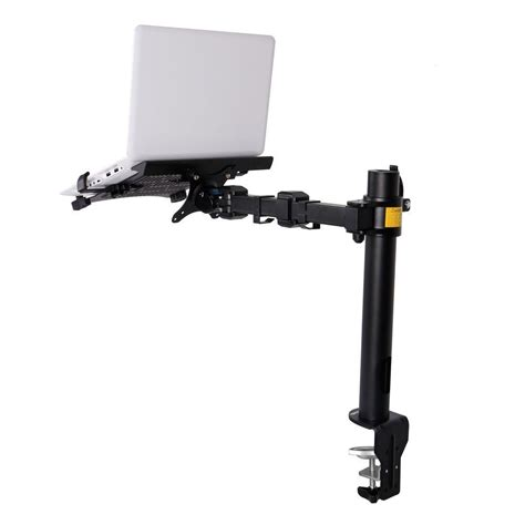 Computer Monitor Mounts Desk Fleximounts 2 In 1 Monitor Arm Desk Mount Lcd Stand Fits 11 15 6 In Notebooks Or 10 In 27 In