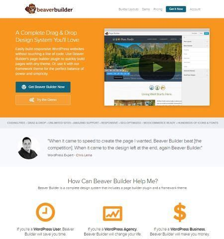 themes compatible with beaver builder 30 best drag and drop wordpress themes builders compared