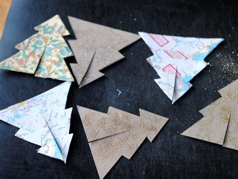 christmas decor recycled paper 5 festive ornaments you can make from recycled paper inhabitat green design