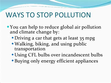 Ways To Avoid Air Quality Air Pollutionand Its Effects And Causes