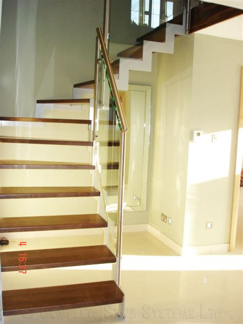 New Staircase Bespoke Staircase New Forest With Steel Stringers