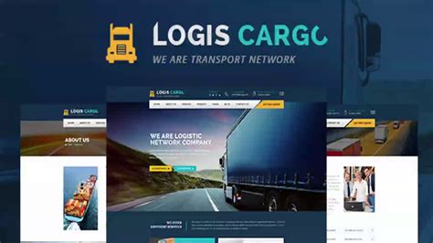 Logis Cargo Logistics Transport Html Template Themeforest Website Templates And Themes Logistics Website Template