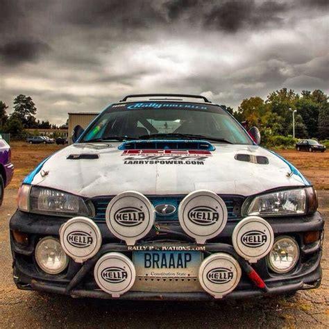 subaru impreza rally hella lights cars