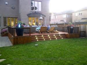 Pictures Of Patio Decks Toronto Landscaping Design Amp Interlock Driveway Paving Company