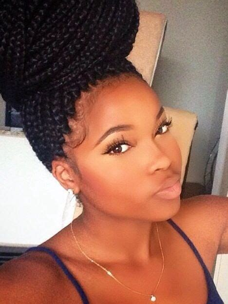 bun box braids grow lust worthy hair faster naturally