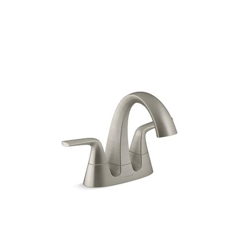 bathroom ni bathroom faucet brushed nickel