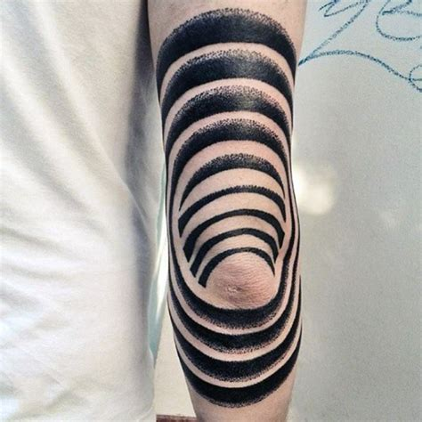 tribal tattoo elbow black and white tribal on tattooimages biz