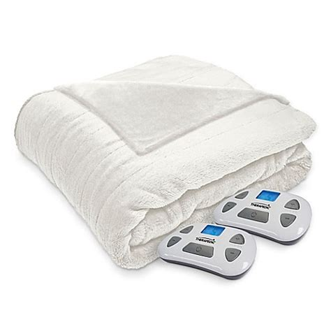 Where To Buy Heated Blankets by Buy Therapedic 174 Silky Plush Heated Blanket In