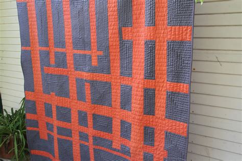 Modern Quilt by 100 Days Week Of Quilting Line Quilting Tips