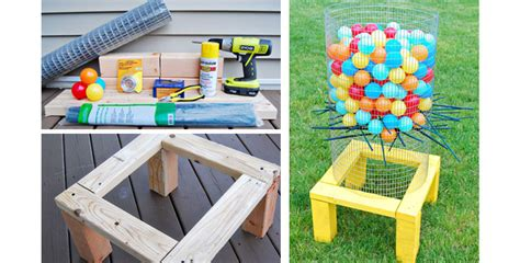 backyard kerplunk game diy backyard kerplunk game outdoor furniture design and