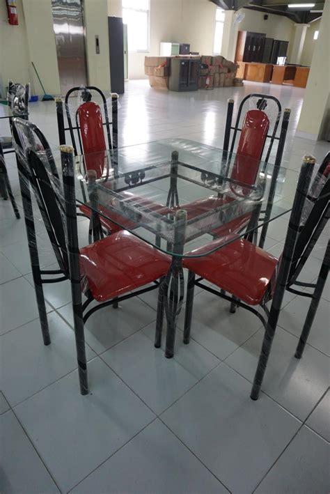Meja Makan Kaca Kursi jual kitchen set kursi dan meja makan mataharimall