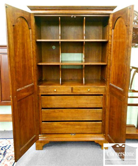 stickley armoire stickley cherry armoire baltimore maryland furniture