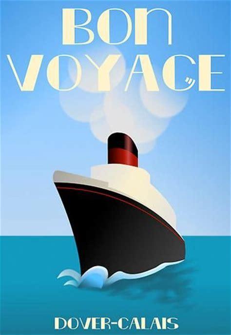 Bon Voyage 1b vintage cruise ship posters vintage posters cruise