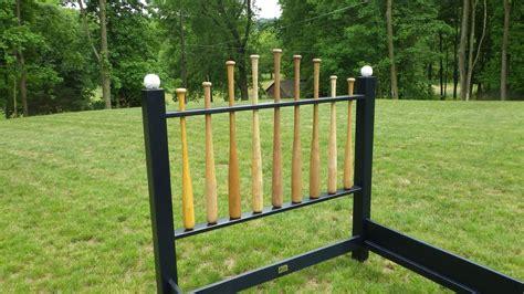 baseball bat headboard for sale baseball bat headboard w farmhouse style footboard