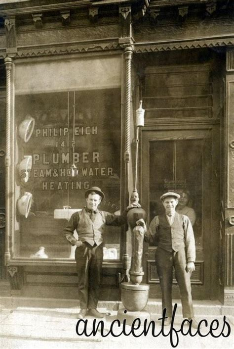 Plumbing In New York new york city plumbers in 1910 i enjoy these snapshots