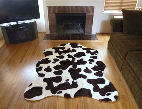 Faux Cowhide Rug Wholesale Faux Fur Cowhide Rug From 5 X 7 Brown White