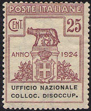 ufficio di collocamento dello spettacolo roma 1924 enti semistatali regno ufficio nazionale