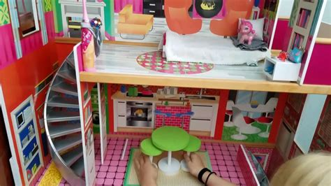barbie home decoration decorating your barbie house youtube