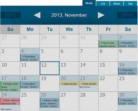 Best Calendar Extensions 5 Best Joomla Calendar Extensions