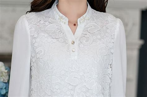 Kaos Top White Blouse Putih 1000 images about white blouse on clothing designer clothing and batam