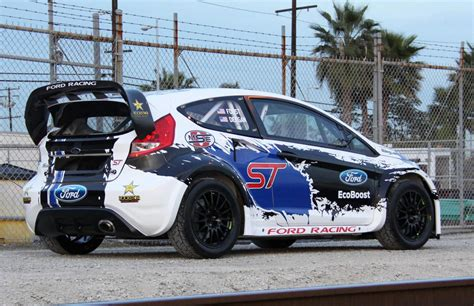 Cars St ford reveals st race car points at road ahead for bigger things in global rallycross