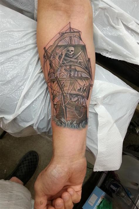 pirate sleeve tattoo designs 18 pirate tattoos on forearm