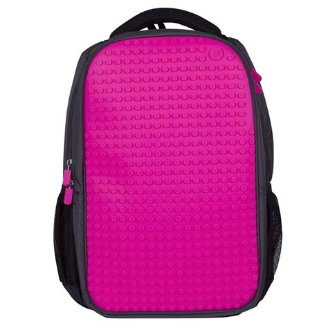 Mikado Tenta Pixel Foldable Shopping Bag Pink upixel pixel backpack black pink wallets brands