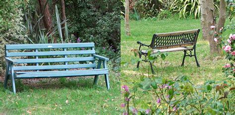 second hand garden benches second hand garden benches