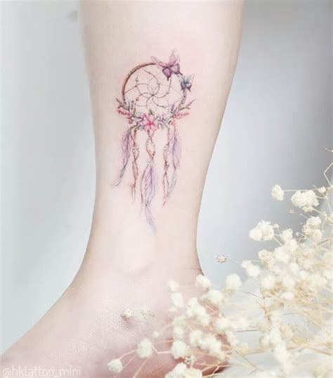 girly dreamcatcher tattoo designs best 25 feminine tattoos ideas on delicate