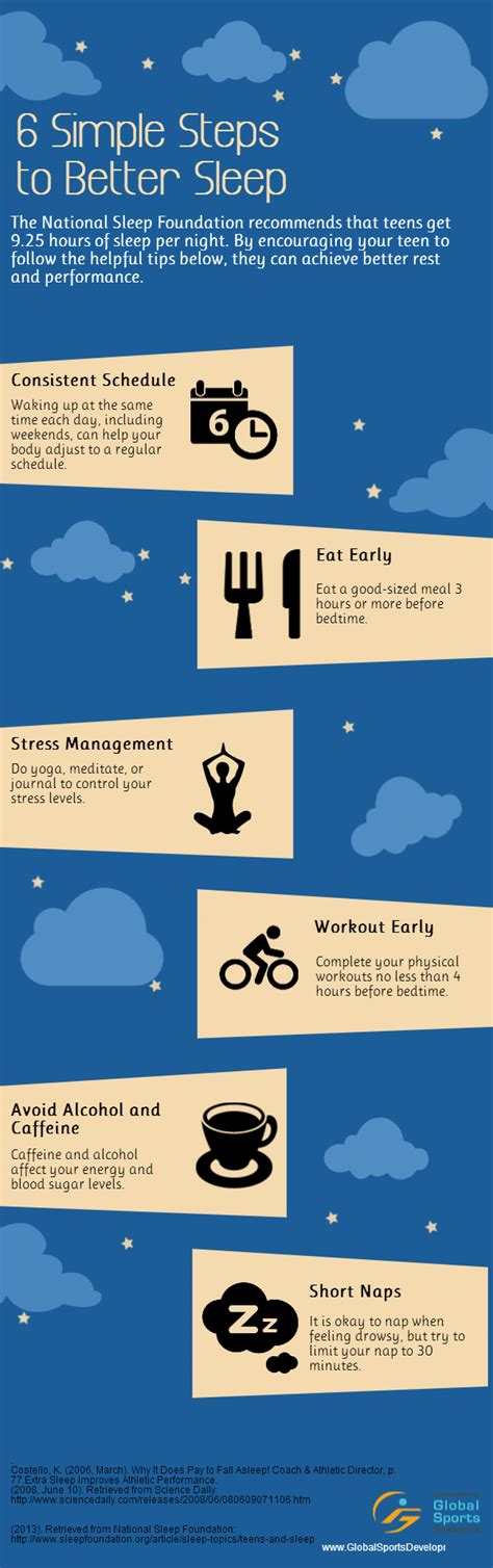 10 natural ways to sleep better and feel energized in the 6 simple ways to sleep better every night infographic