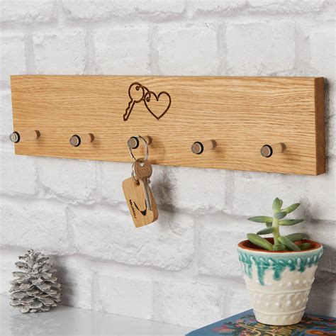 personalised key rack by mijmoj design