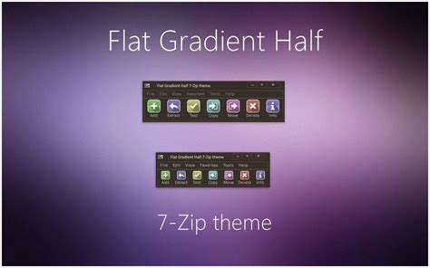 themes zip download flat color winrar theme