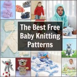 39 free baby knitting patterns favecrafts com