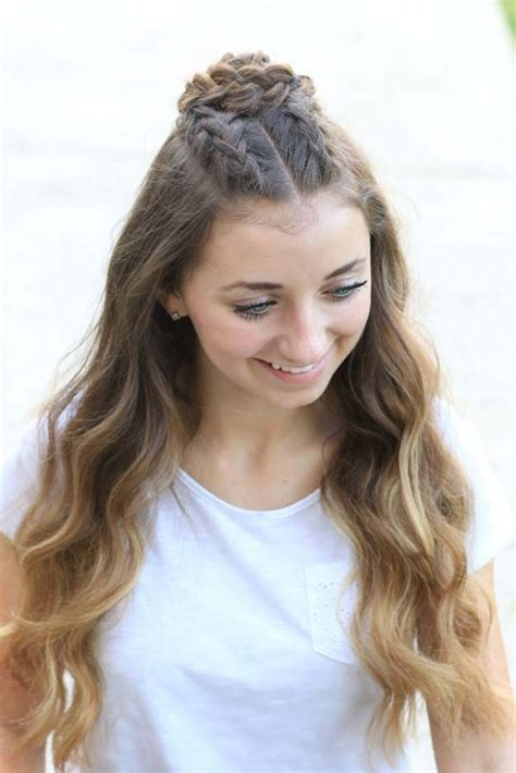 zoella quick hairstyles for school 41 diy cool easy hairstyles that real people can actually