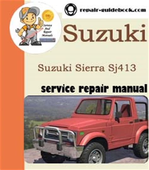 Suzuki Repair Suzuki Pdf Factory Workshop Repair Manual