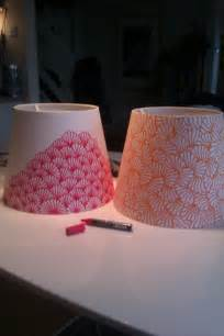 Paint Lamp Shade DIY