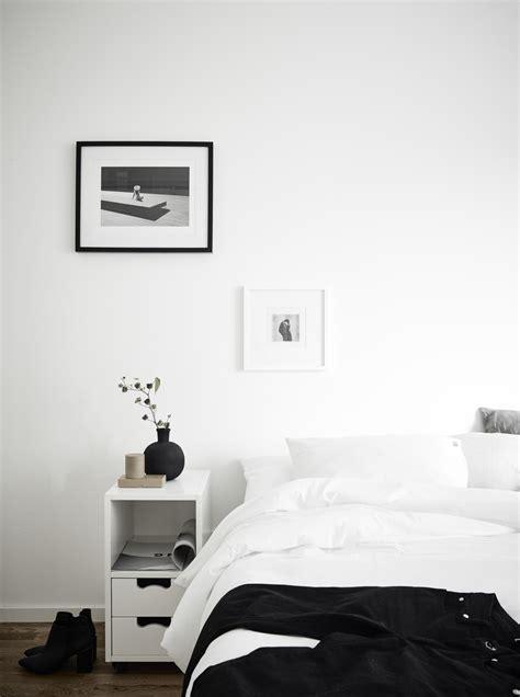 monochrome bedroom minimal bedrooms