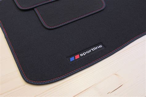 sportline floor mats for bmw 5 series f10 f11 from 2013