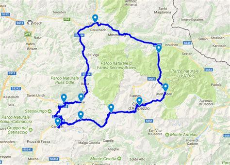 Motorradtouren Meran by Grosse Dolomitenfahrt Freizeit Tirol