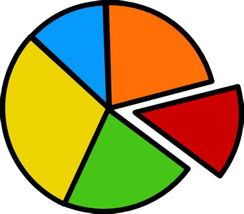 graph clipart pie chart clip at clker vector clip