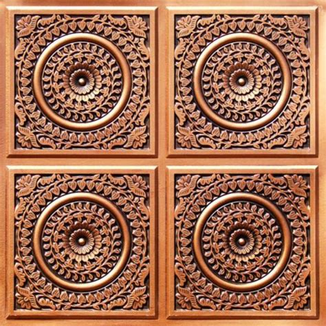 real copper ceiling tiles 17 best ideas about plastic ceiling tiles on