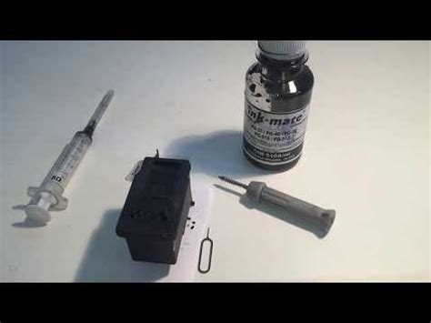 Catridge Hp678 Colour how to open an inkjet cartridge and clean the inside