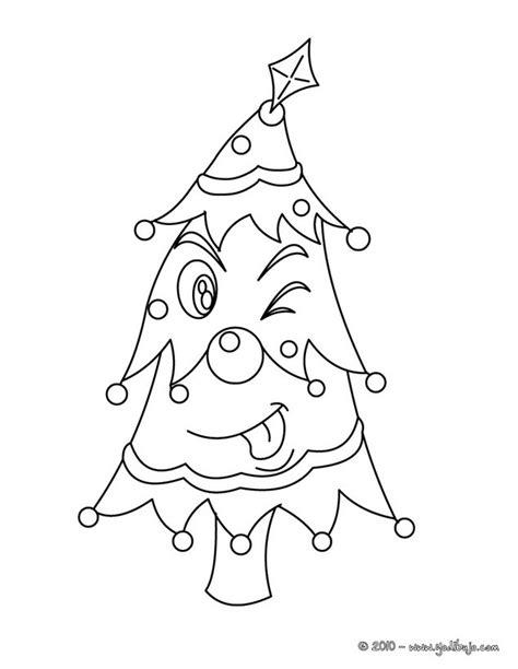 dibujos para colorear arbol navide 241 o chistoso es