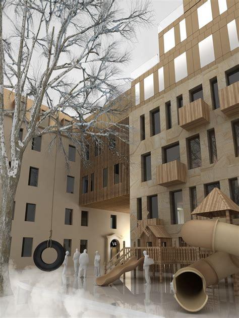 New Apartment Building In Unesco World Heritage Site In Design Apartments Riga