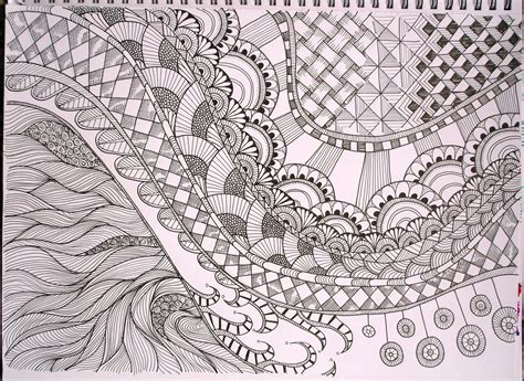 free printable zentangle patterns free coloring pages of zentangle patterns