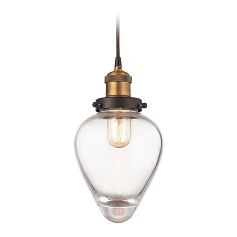 brass mini pendant light elk lighting bartram oil rubbed bronze antique brass mini