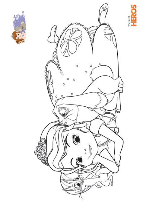 Coloriage Imprimer Princesse Sofial L