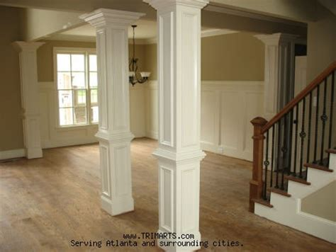 interior columns professional carpentry trim and cabinets in atlanta