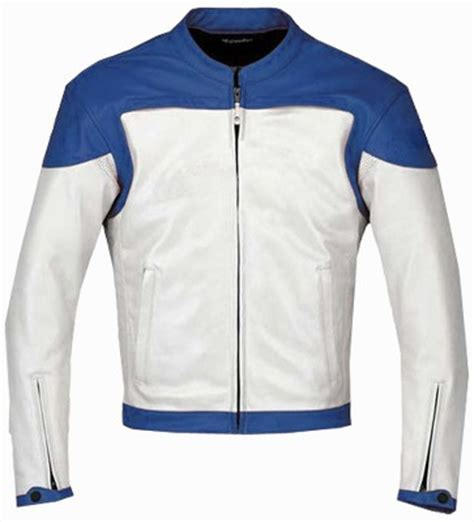 white motorbike jacket stylish blue white motorbike leather jacket