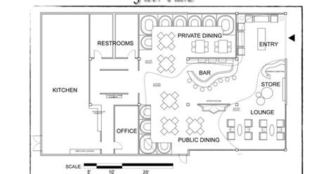 sle floor plans sle floor plan of a restaurant restaurant floor plans